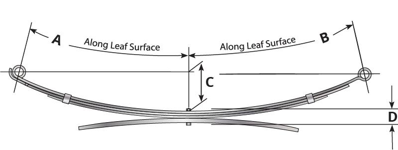 toyota 1 8 diagram leaf springs for 1998 2000 toyota tacoma 90 203hd springworks com  leaf springs for 1998 2000 toyota
