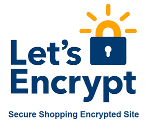 Secure encryption provided by Let's Encript.