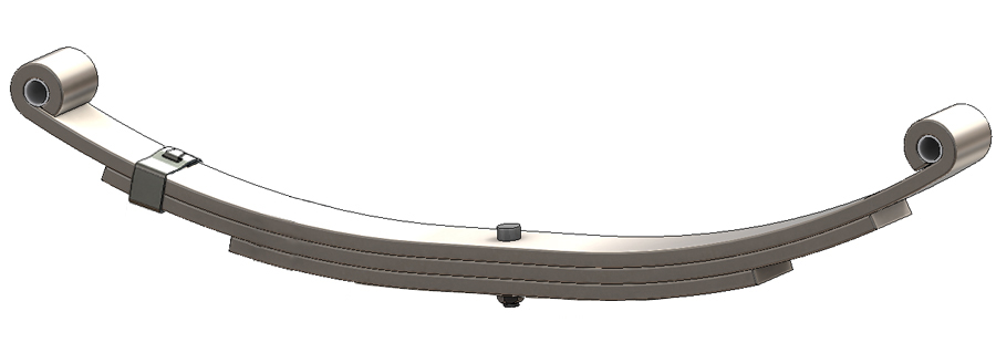 Trailer leaf spring 4332-13L same as UNA-216, 72-09, 124-3L, WAH-3, 93180, 1750, 1724, 8116, TS524-3 for all trailer types.